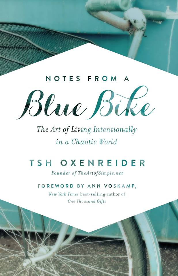 Notes from a Blue Bike. The path to living intentionally