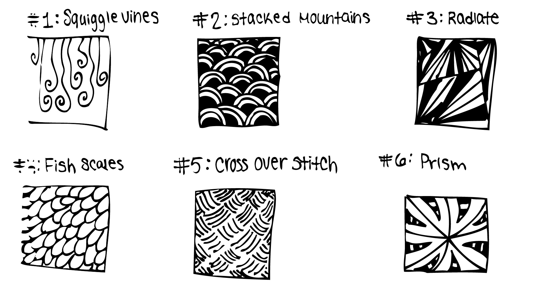Simple Zentangle Ideas To Inspire You