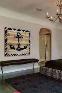 Lovely Anchor Wall Art