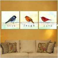 Bird Wall Art Canvas Fresh Line Get Cheap Love Birds ...