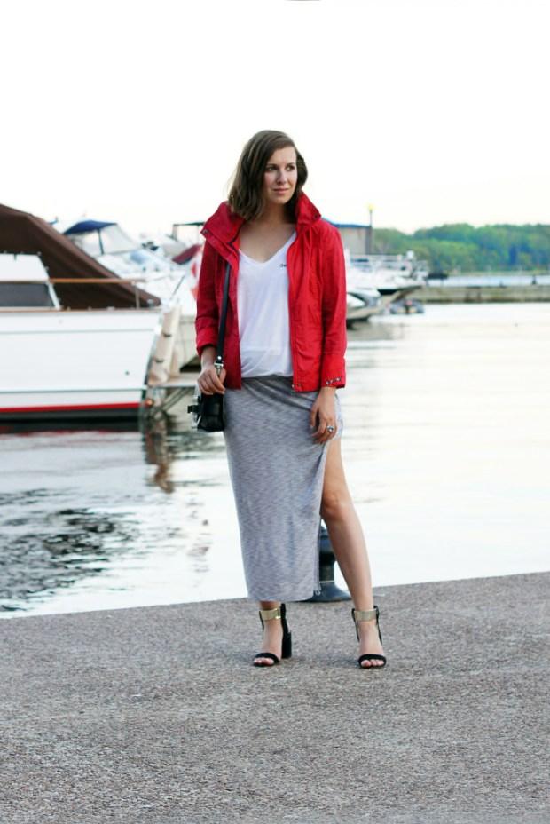 Bench Maxi Skirt
