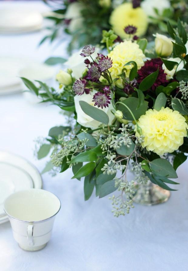 Loose Flower Arrangement by Toronto Florist