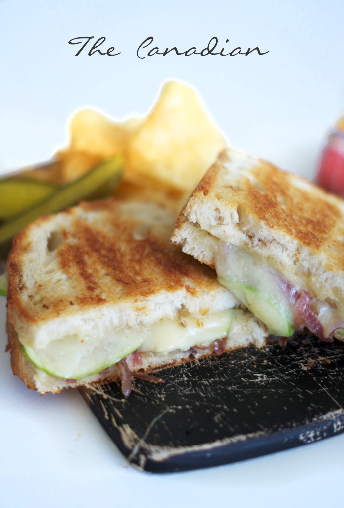 Grilled Cheese with Maple Syrup