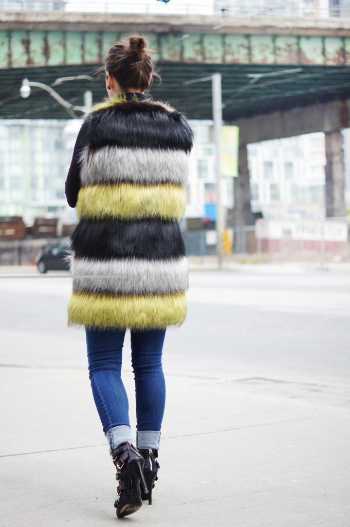 Wearing a Vest in the Winter