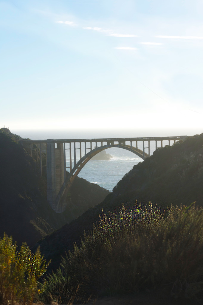 Bixby Bridge on the way to Big Sur California