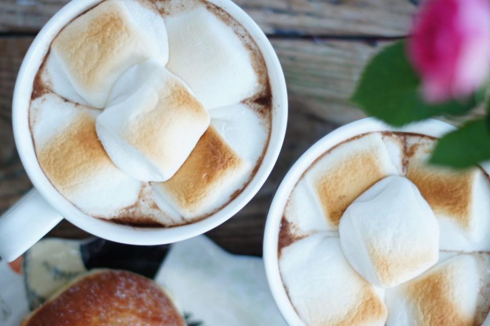 Toasted Marshmallow Mocha Drink