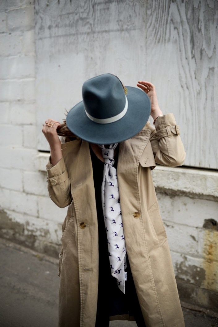The trench coat is a spring staple - spring look by Threads & Blooms