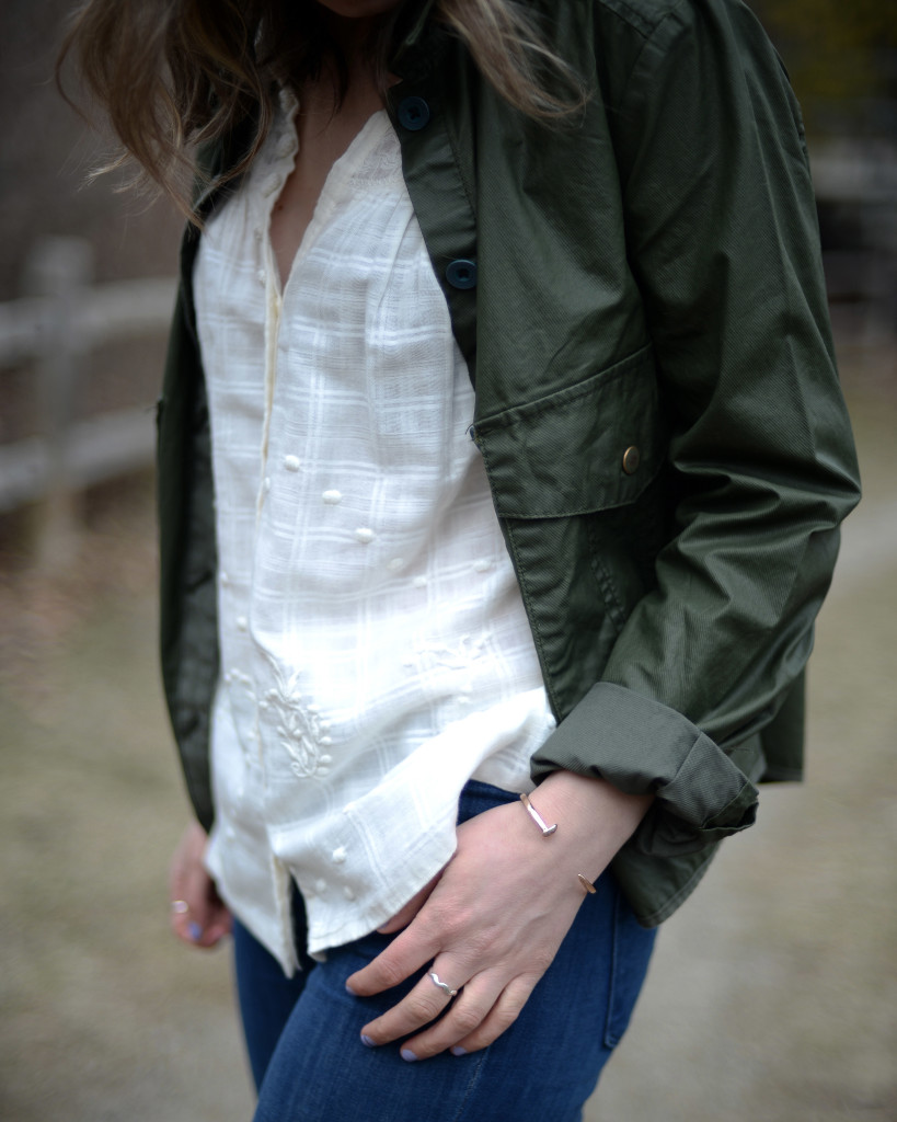 Hei Hei waxed jacket from Anthropologie