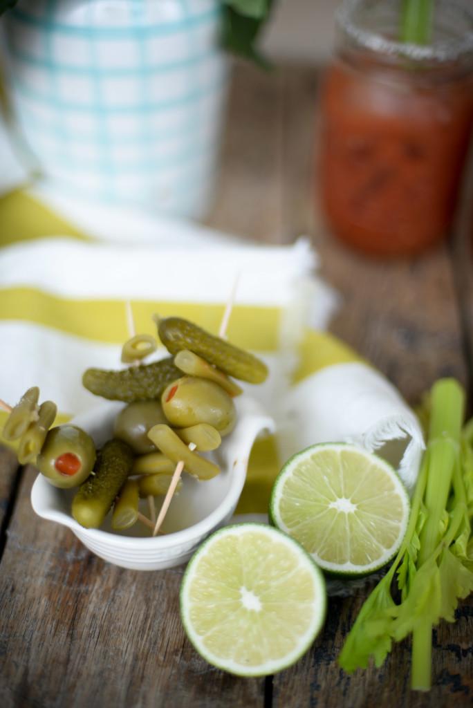 Spicy Caesar Recipe with horseradish