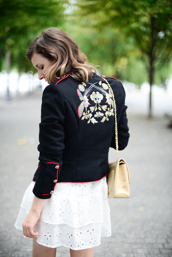 Zara Embroidered Jacket