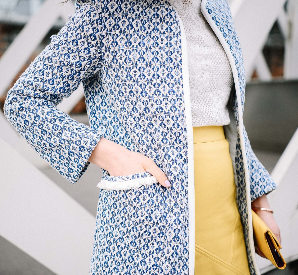 zara-blue-coat-yellow-skirt-2