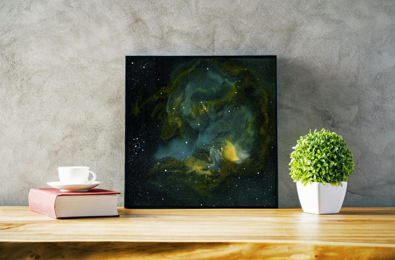 space art, galaxy art, nebula art