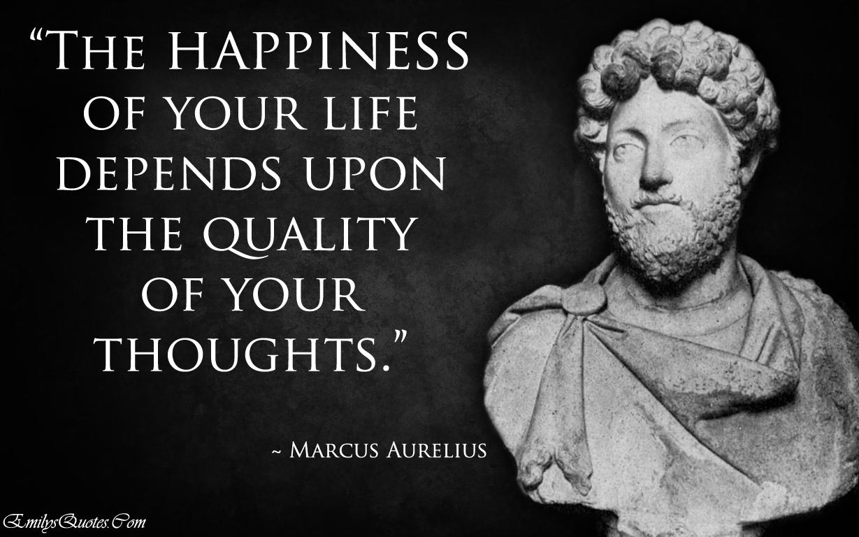 Marcus Aurelius Stoic Quotes Wallpaper Funny Quotes Happy Thoughts Quotesgram
