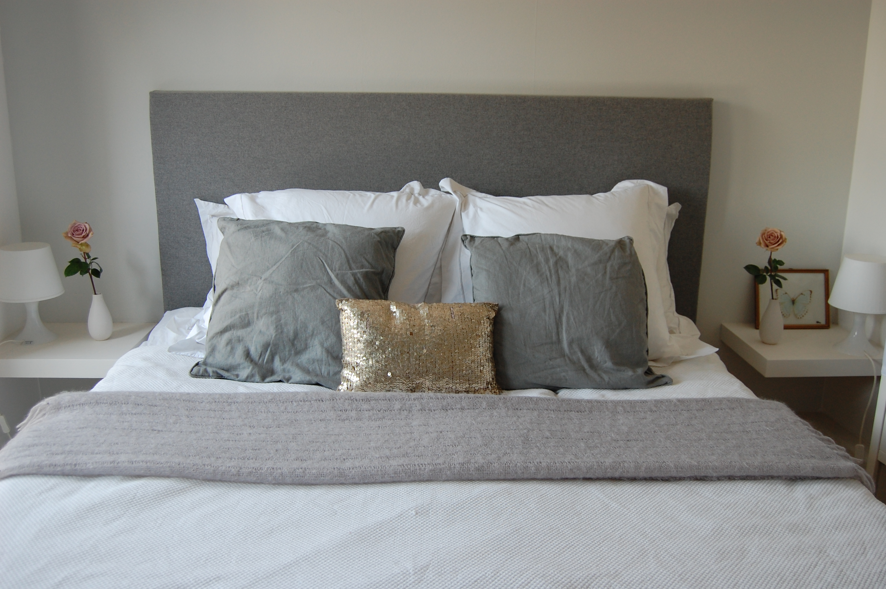 Tweepersoonsbed Boxspring How To Make A Headboard