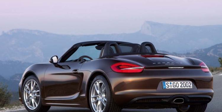 A look at Porsche Boxster 2013