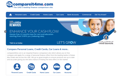 Top site to Compare Banking Products,Personal Loan Compare