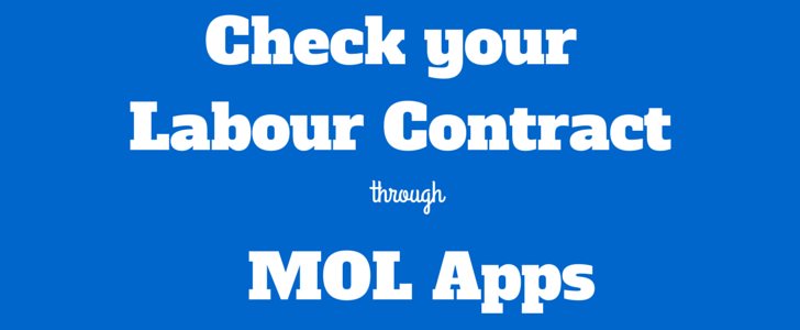 labor contract through iphone app