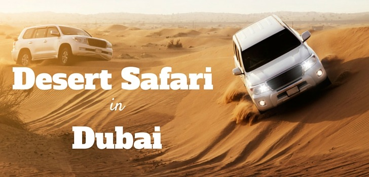 List of Desert Safari Companies in Dubai
