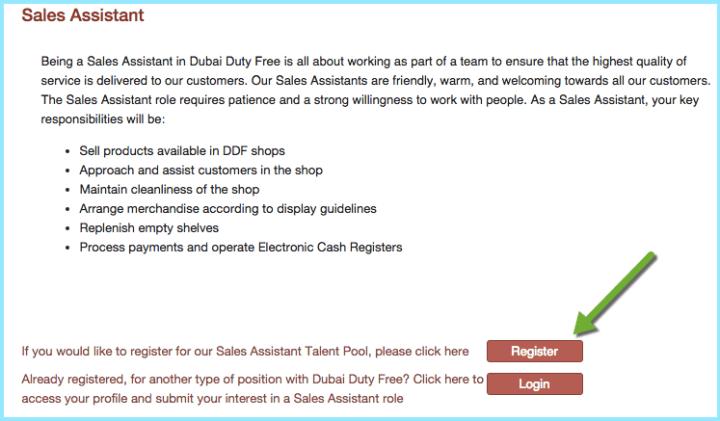 duty free dubai jobs