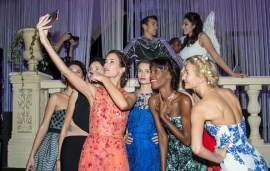 In Pics: Dubai's Best Dressed At Harvey Nichols Dubai SS16 Fashion Show