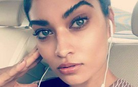 Part-Saudi Victoria's Secret Model In Dubai Takes On Bullying & Feminism