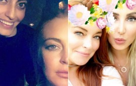 Lindsay Lohan Was Just In Dubai (And It Turns Out She's Close Pals With Local Stars)