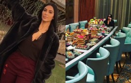 Deserts, Dinners & Designer Shopping: Here's What Kim Kardashian Is Getting Up To In Dubai