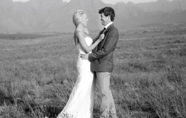 Real-Life Wedding: Saying 'I Do' In A South African Rose Garden