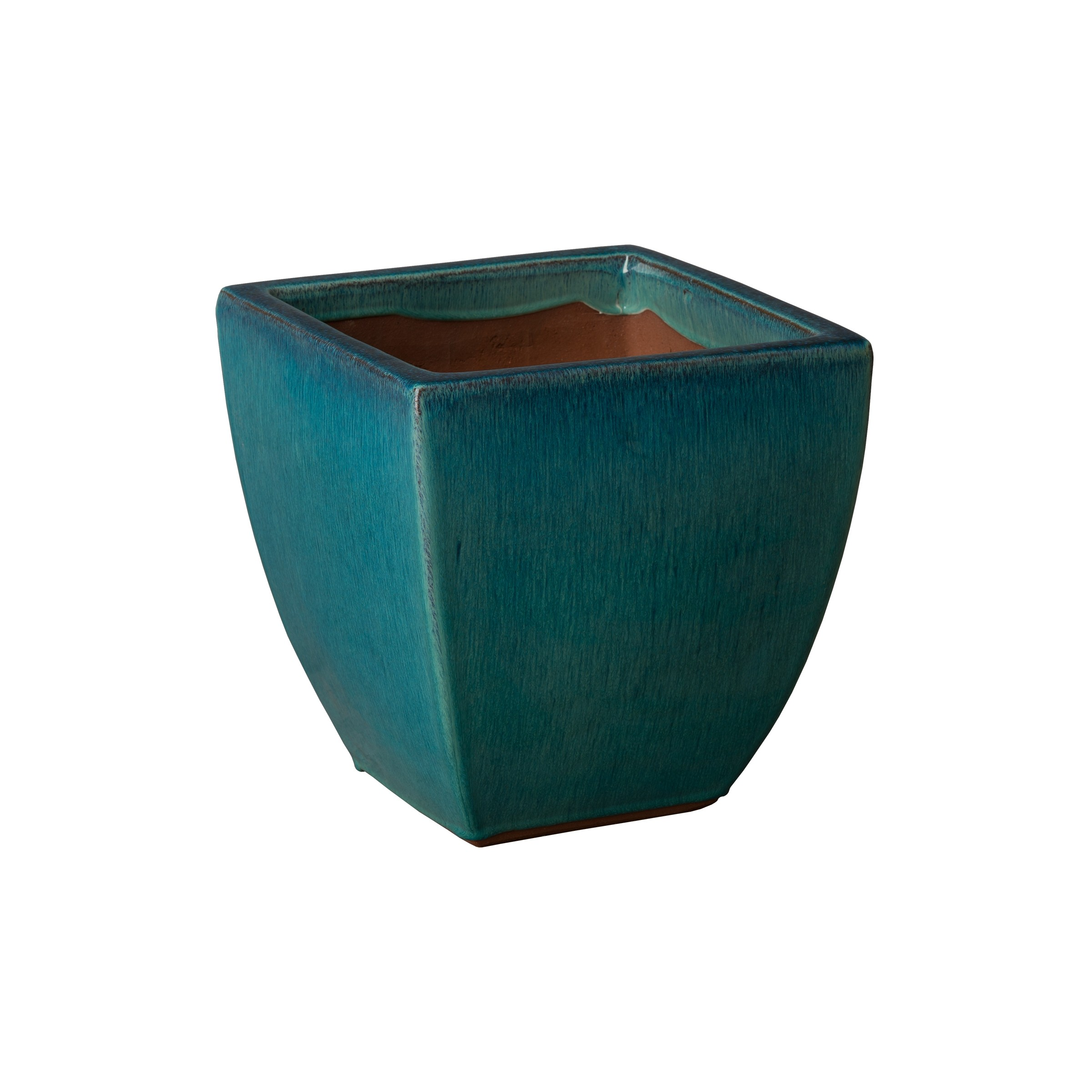 Metal Coffee Table Square Planters