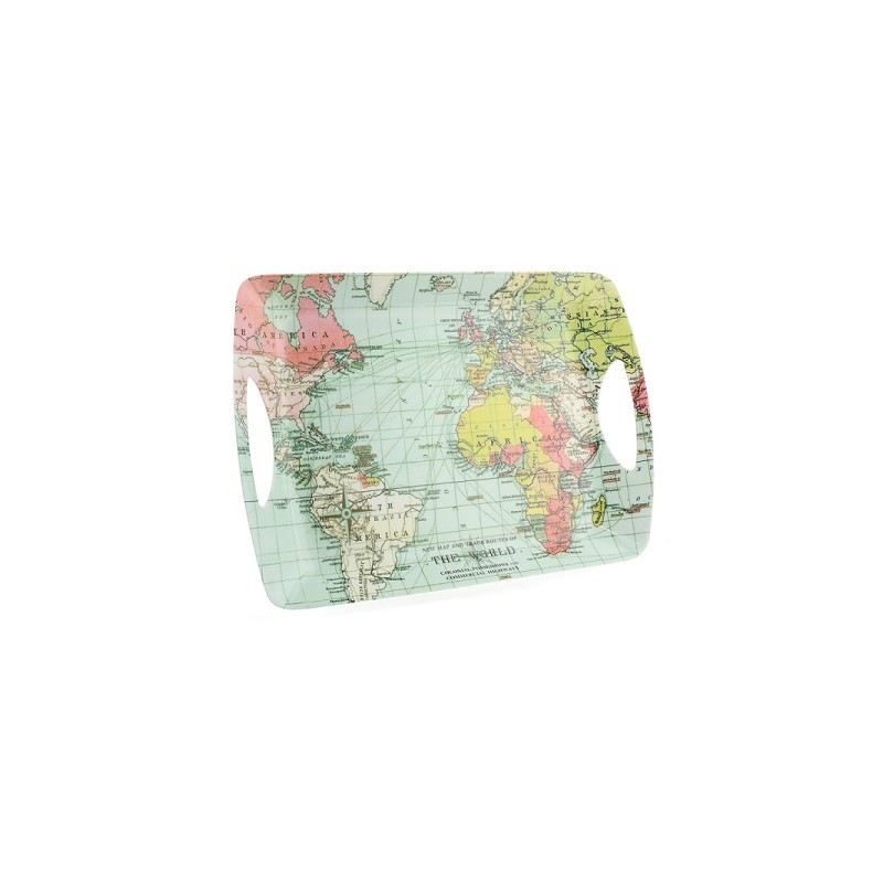 Serviertablett Klein World Traveller Tray - Serviertablett Klein Das
