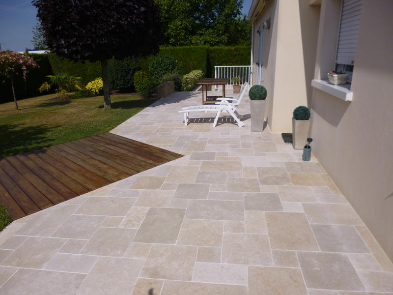 Dalle Composite Terrasse Emma Nature Paysagiste | Paysagiste Saint Macaire En