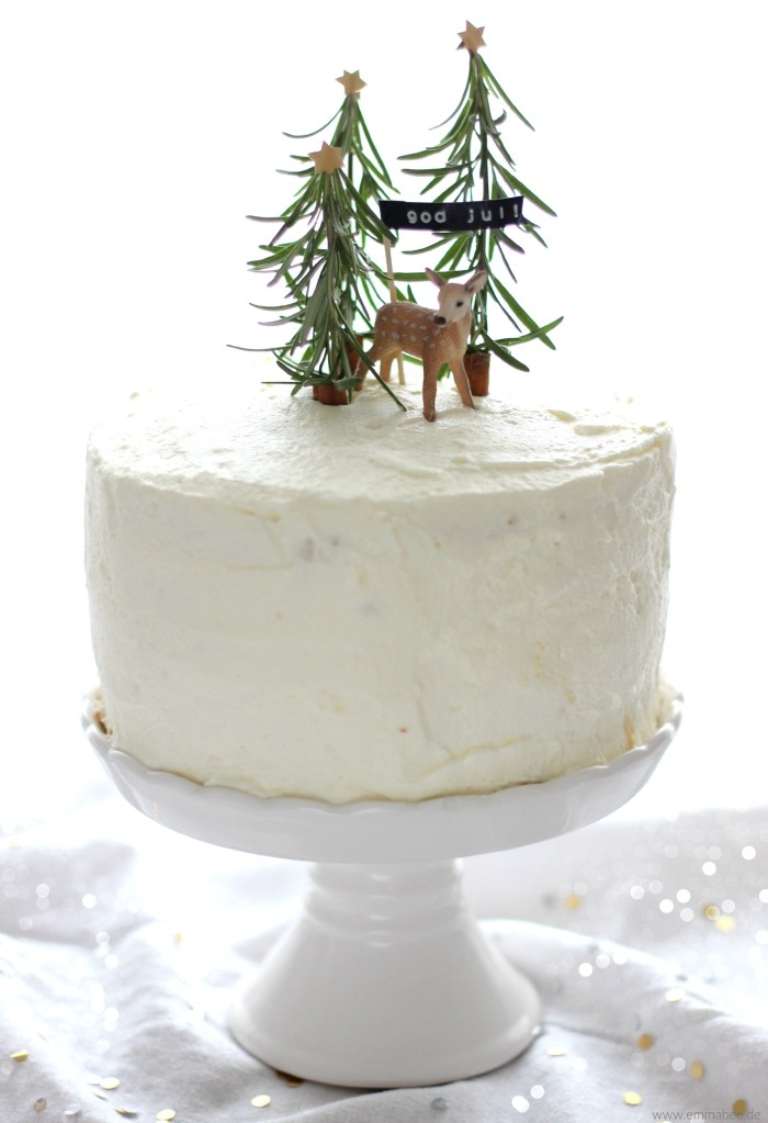 Eine zauberhafte Wintertorte zum Dahinschmelzen: Dulce de Leche-Cake
