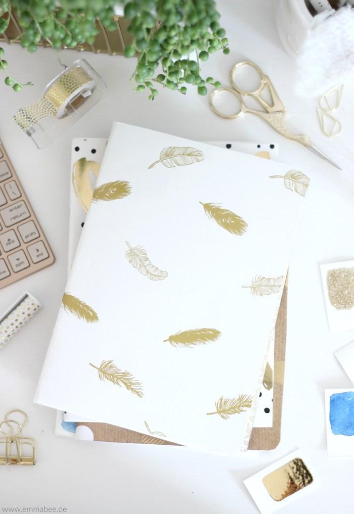 EmmaBee DIY Notizbuch