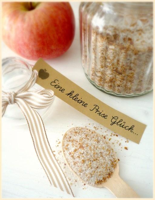 Apfelkuchen Zucker