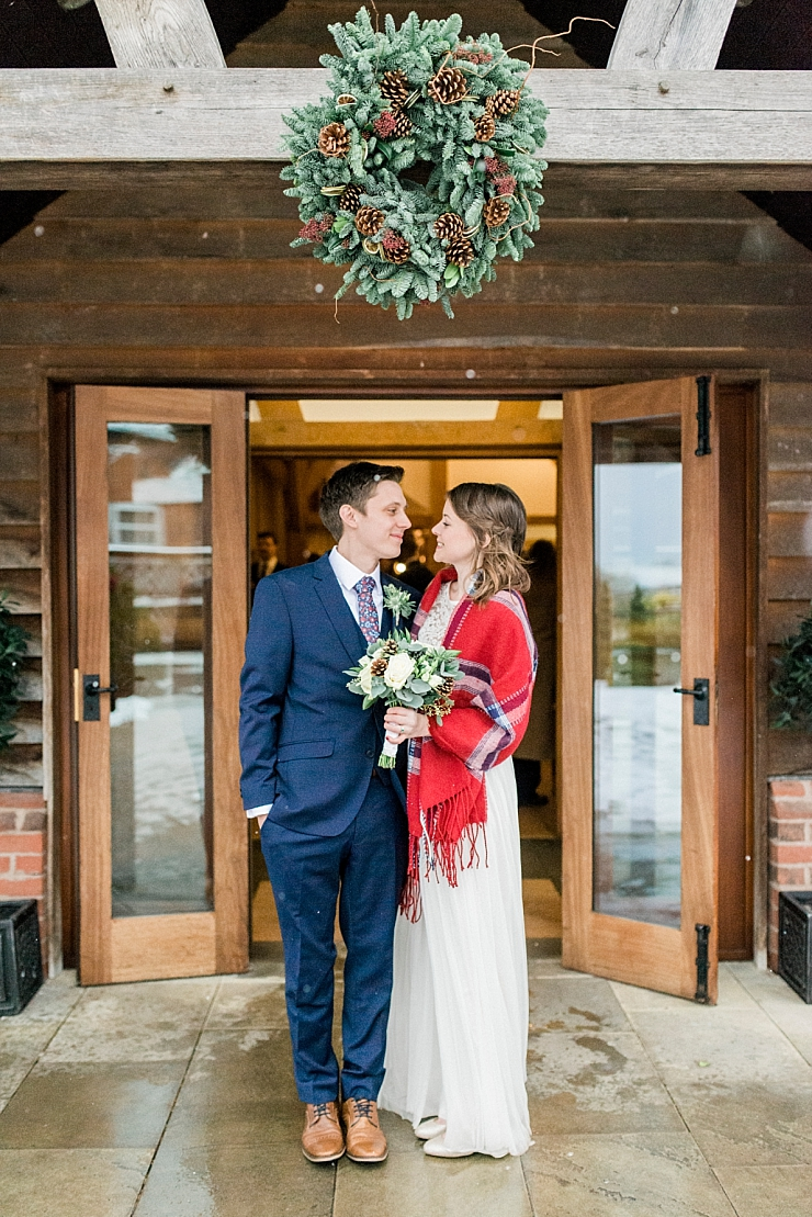 sandhole_oak_barn_christmas_wedding__0001 A SANDHOLE OAK BARN CHRISTMAS WEDDING