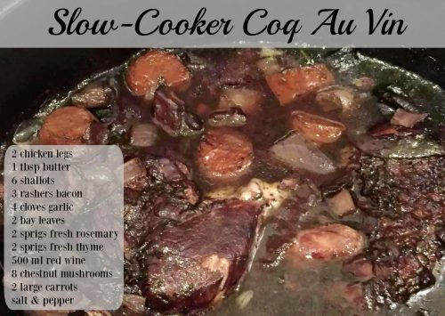 Medium Of Coq Au Vin Slow Cooker