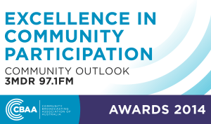 Excellence in Community Participation 2014 - Community Broadcasting Association Australia