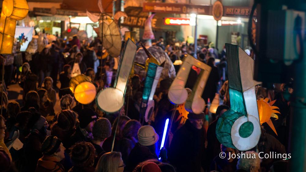 Musical Note Lanterns 2013