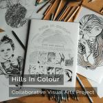 Hills In Colour - Collaborative Visual Arts Project