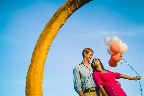 fun north carolina engagement session