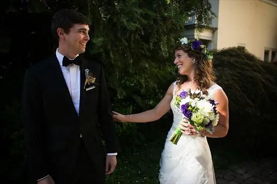 Dennis Drenner Photographs - baltimore wedding - couple first look