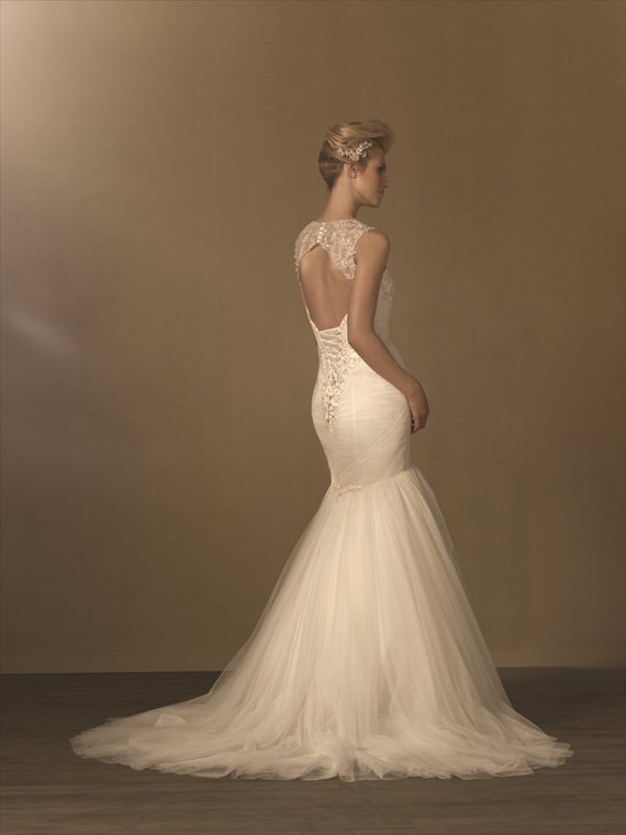 Vintage Inspired Wedding Gowns by the Alfred Angelo 2014 Collection - 1940s inspiration