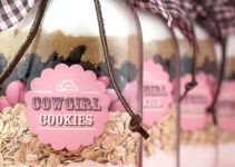 mason jar cookie favors