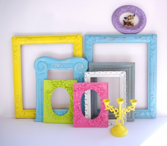 colorful ornate frames