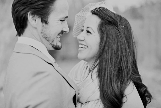 bride-and-groom-bw