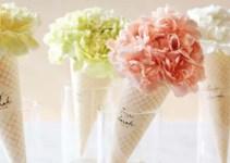 carnation cones