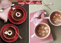 heart marshmallows for cocoa