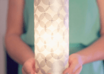 diy wedding lantern