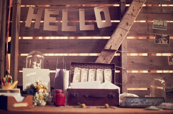 kraft paper wedding