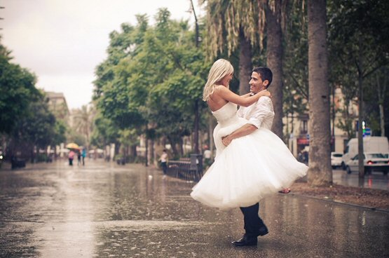 if it rains on your wedding day